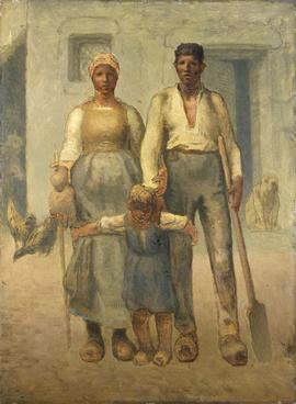 The peasant family 1871-1872