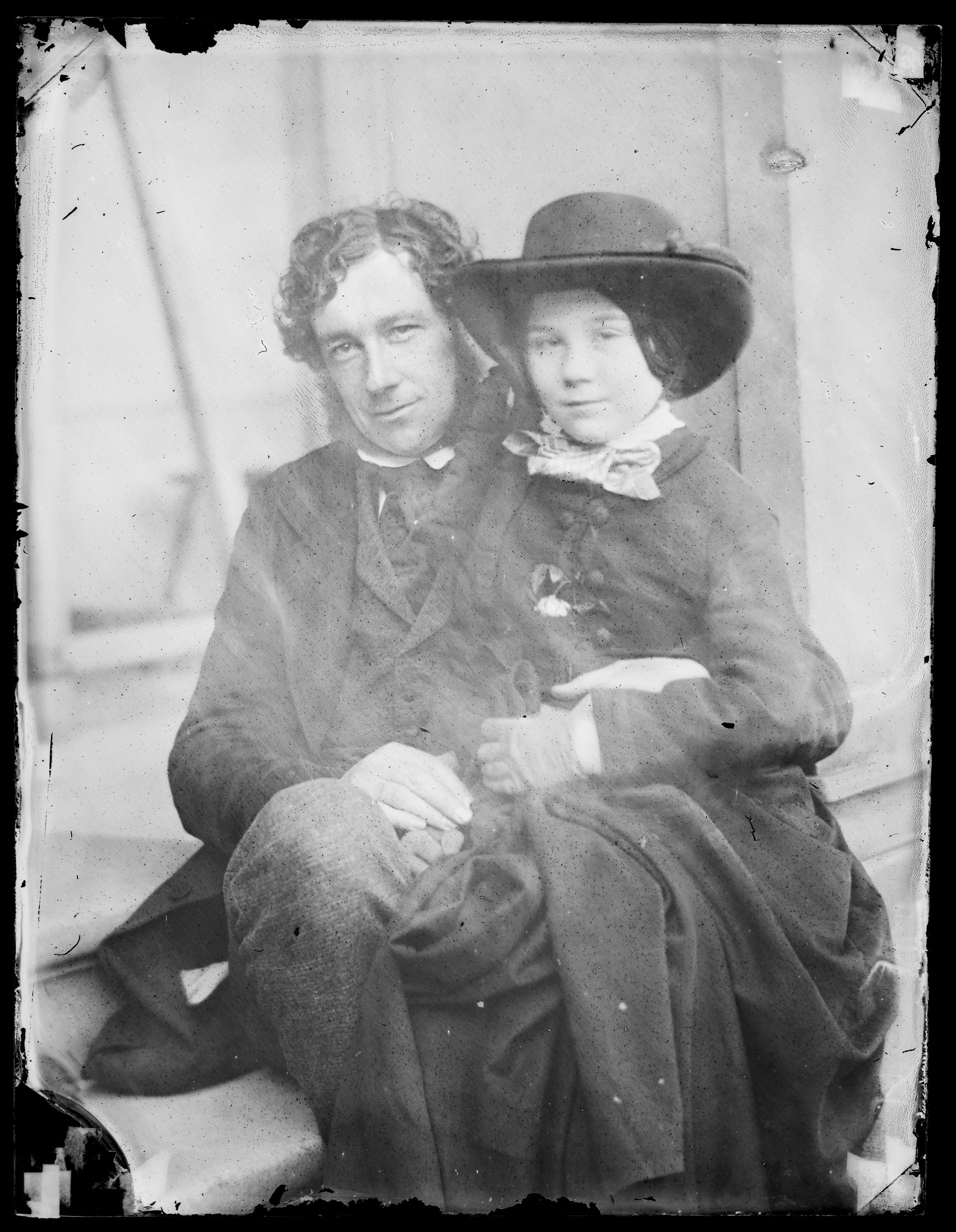 Open the image &lsquoLewis Llewelyn Dillwyn, glass negative'