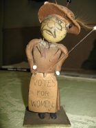 Anti-suffragette 'voodoo' doll