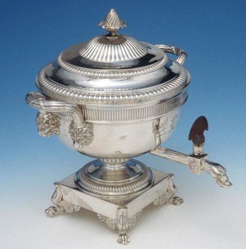 Tea urn by Paul Storr, 1805-6