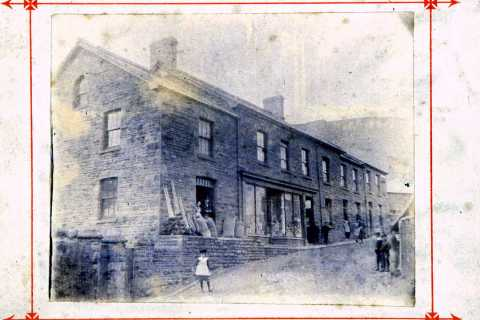 Gwalia Stores about 1885.