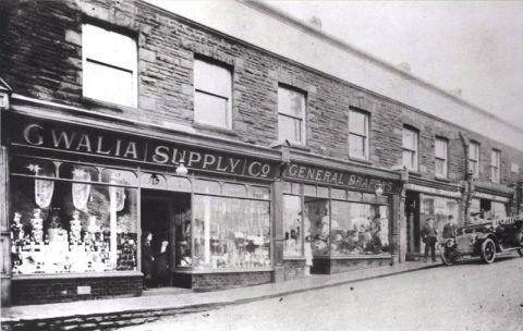 Gwalia buildings, about 1914