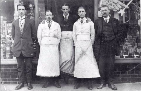 The Gwalia staff, 1914
