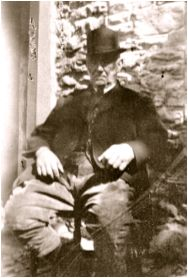 Mr Evan Griffiths, a conjurer from Llangurig, mid Wales,  1928