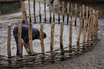 Building a roundhouse
