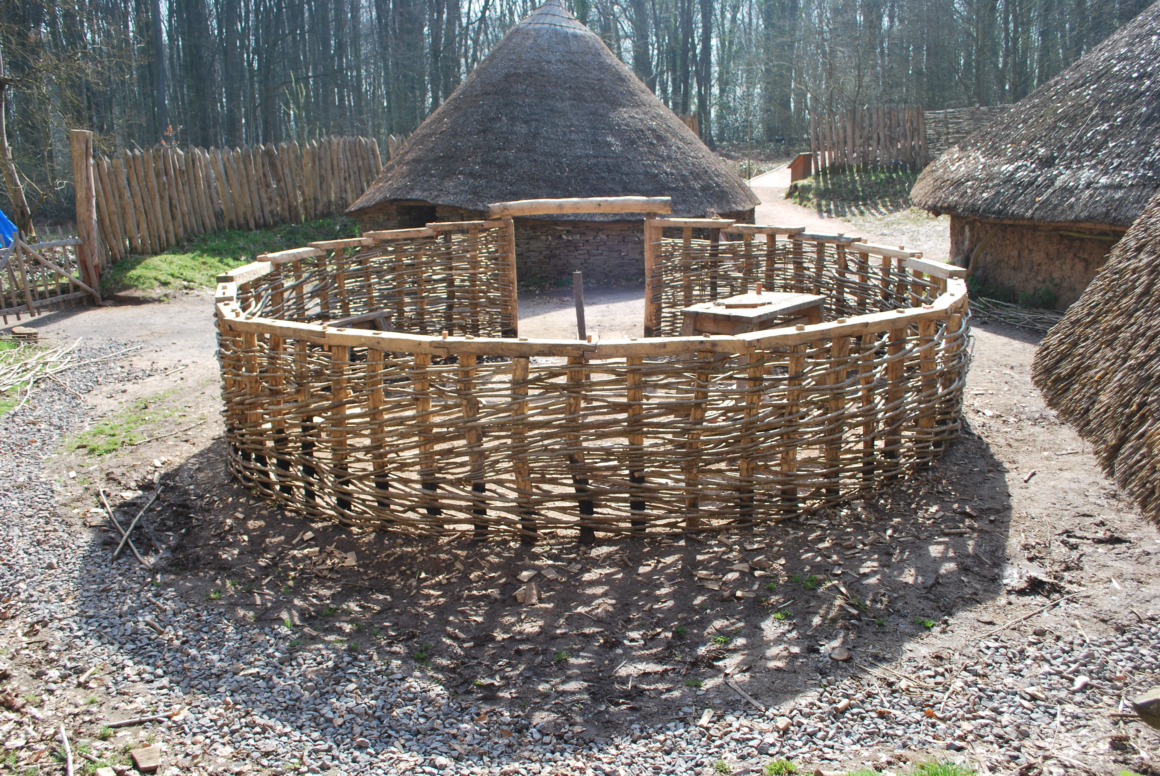 Building A Roundhouse National Museum Wales