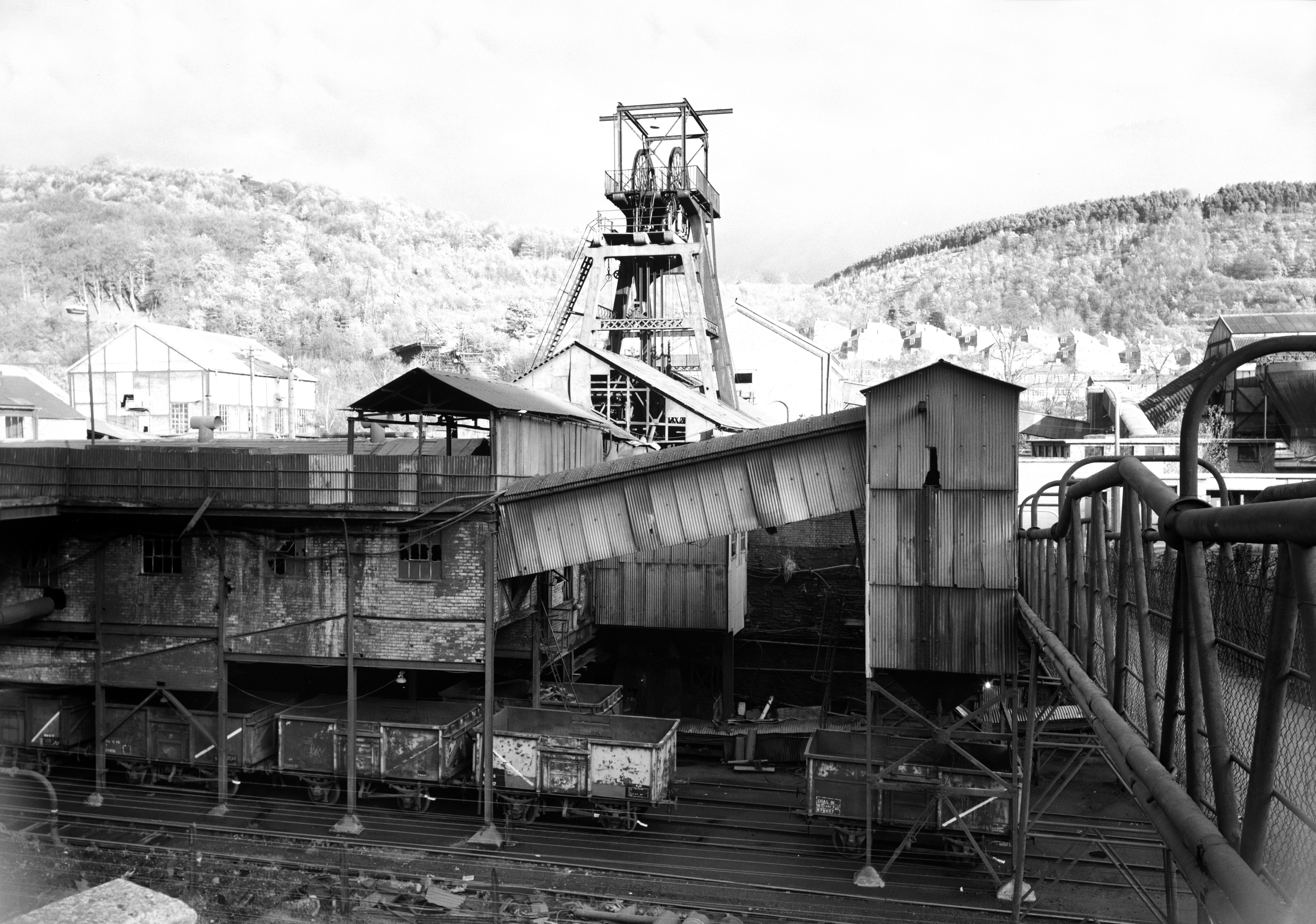 Celynen South Colliery, 1978.