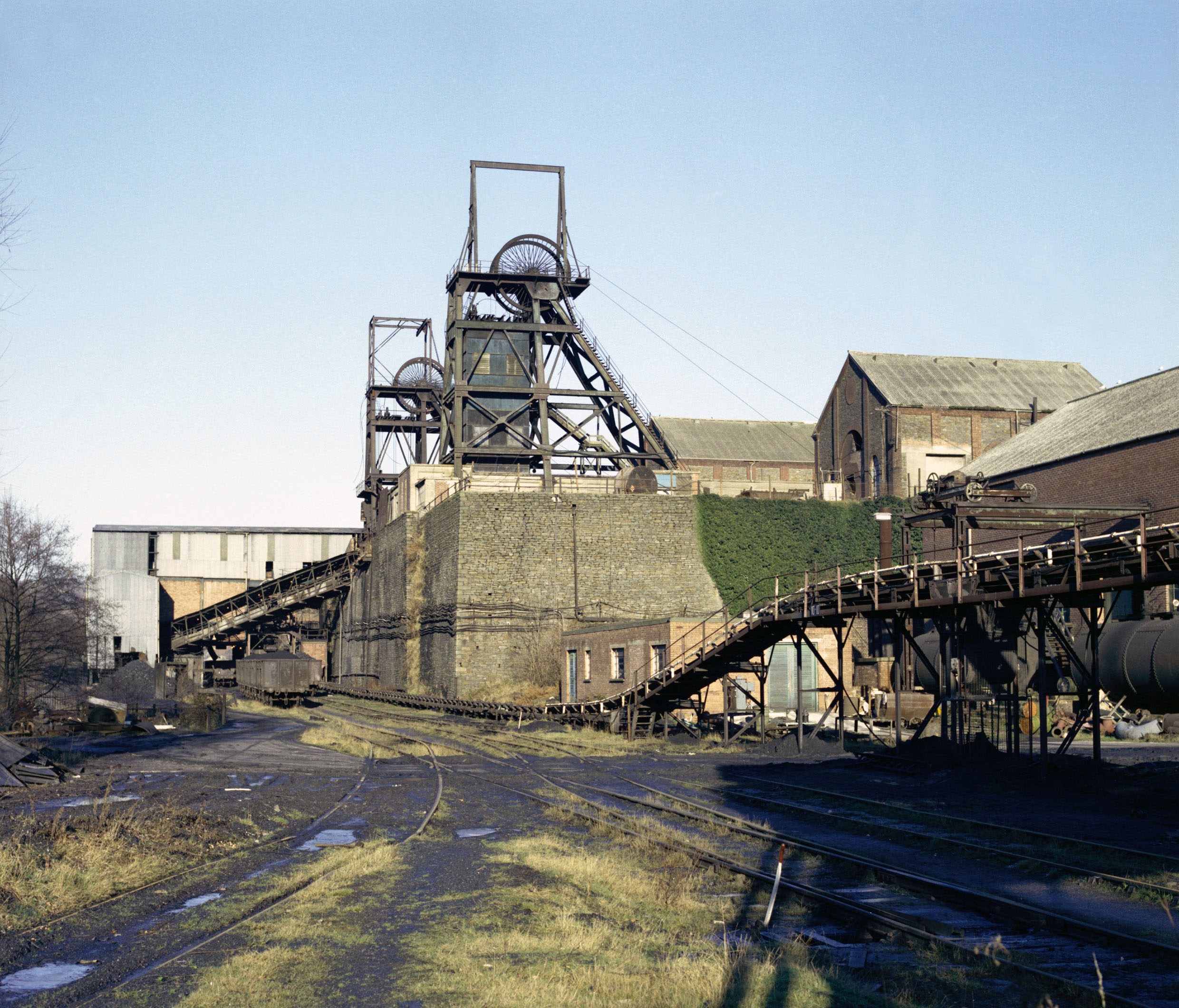 North Celynen Colliery, 1975