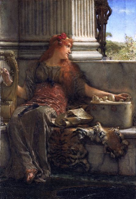 Alma-tadema, Sir Lawrence. Poetry. (1879)