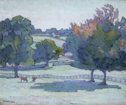 Bevan, Robert Polhill. Maples at Cuckfield, Sussex.