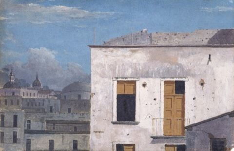 Jones, Thomas. Buildings in Naples. (1782)