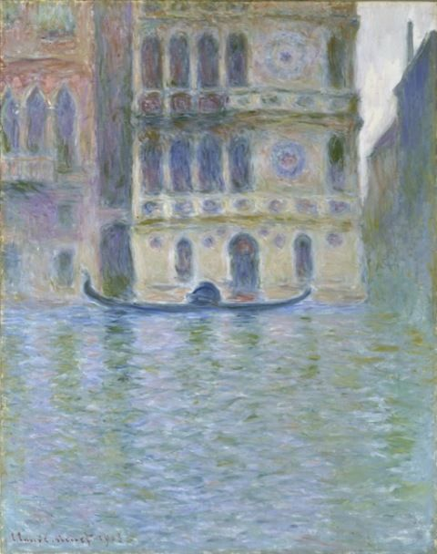 Monet, Claude. The Palazzo Dario. (1908)