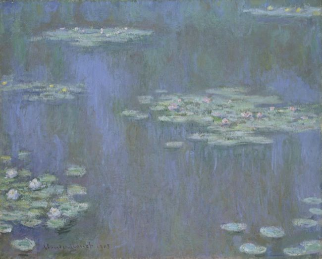 Monet, Claude. Waterlillies. (1905)