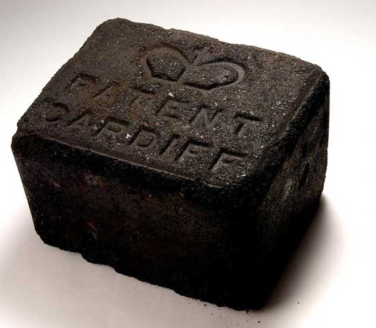 A block of Crown Patent Fuel.