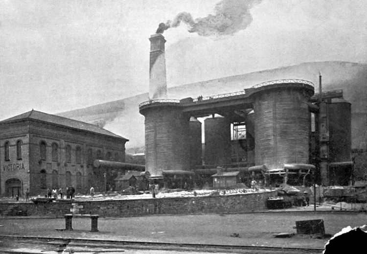 The last act of expansion was the rebuilding of the two Victoria Furnaces in 1882.