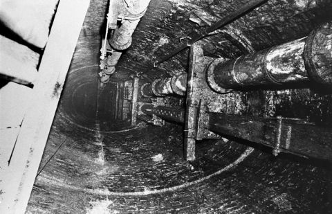 The shaft of Victoria No. 5 (Prince of Wales) Colliery.