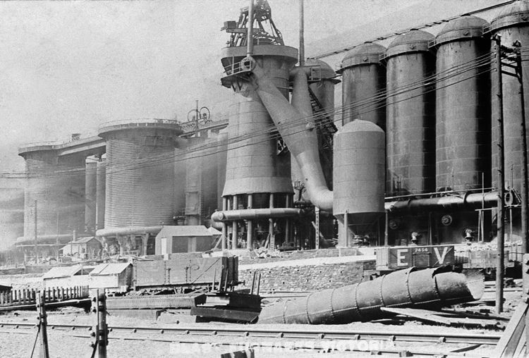 A new American design blast furnace was built at Victoria in 1903.