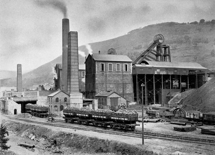 Marine Colliery, 1907:  Coke for the furnaces