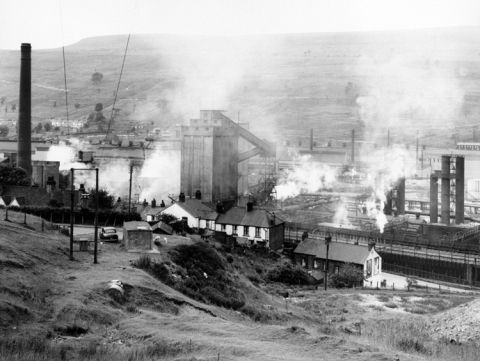 The new works started production in 1938 and prosperity returned to the town of Ebbw Vale.