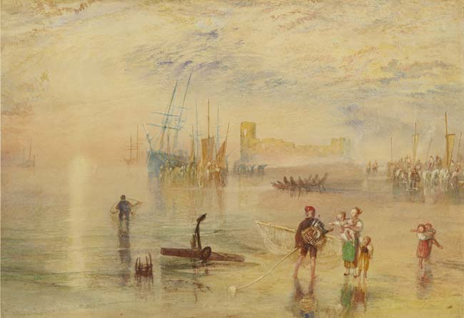 Turner, Joseph Mallord William. Flint Castle. (1834)