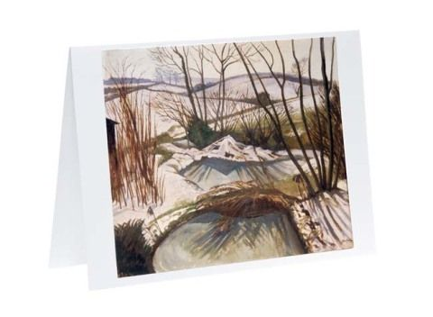 Christmas card pack - Frozen Ponds by John Northcote Nash