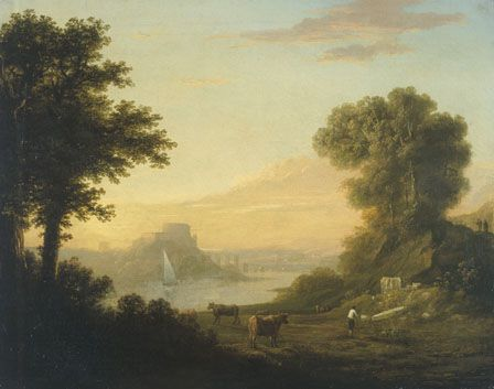 Classical Landscape with a River