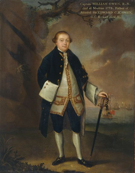 Captain William Owen (1763-1822)
