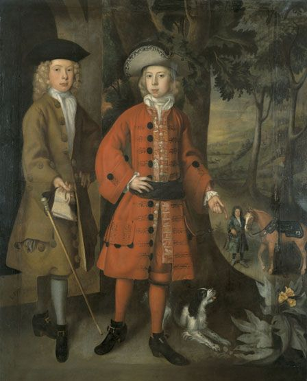 Sir Charles Kemeys (1688-1734) and ? William Morgan (1688-1699)