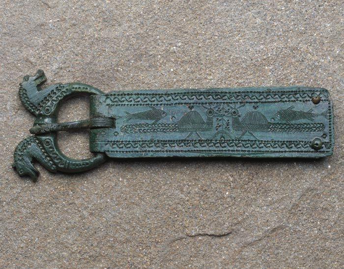 A Roman belt buckle that escaped the Edwardians