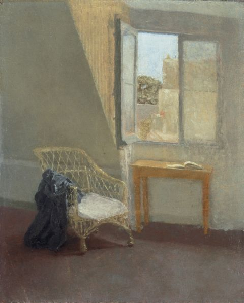 NMW A 3397, Gwen John, A Corner of the Artist's Room in Paris, 1907-09