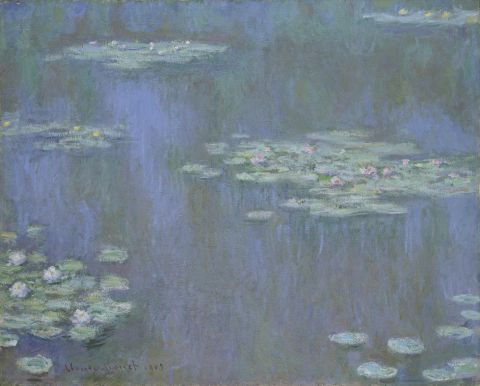 Claude Monet, Waterlilies, 1905