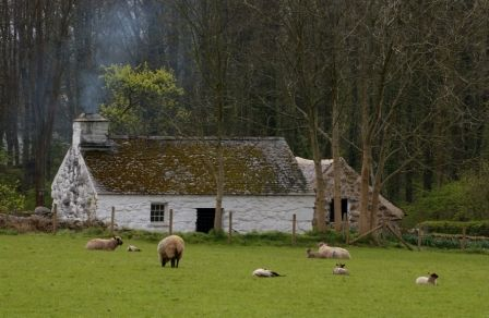 Llainfadyn Cottage at St Fagans National History Museum