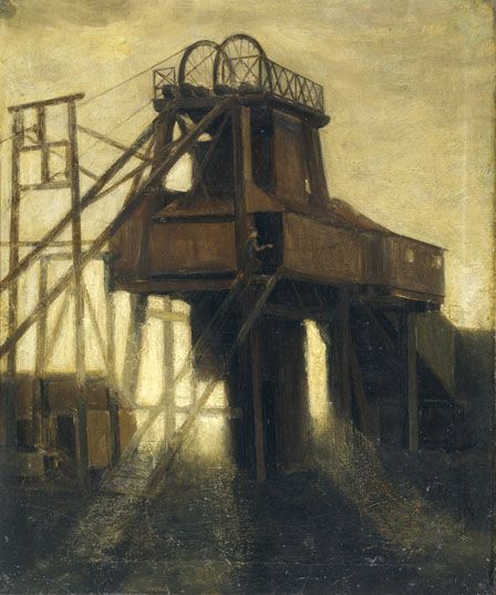Pithead at Pentre
