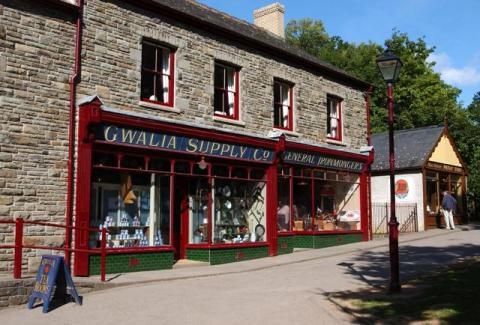 Gwalia stores at St Fagans National History Museum