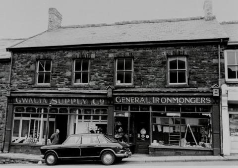 Exterior view of Gwalia Stores