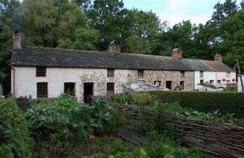 Rhyd-y-car houses at St Fagans National Museum of History
