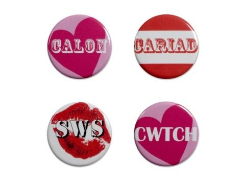 Set of 4 Badges