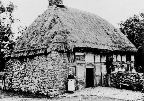 Inhabitant of Abernodwydd Farmhouse in Llangadfan