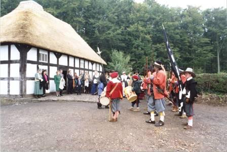 Abernodwydd official opening at St Fagans National History Museum, 1992