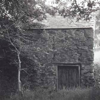 The Gorse Mill prior to removal to St Fagans National History Museum