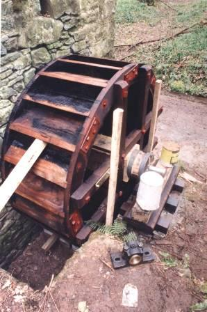 Re-erecting the Gorse Mill at St Fagans National History Museum