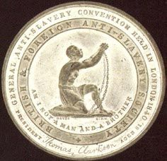 image of a kneeling slave was commissioned by the Abolition Society from the potter Josiah Wedgwood in 1788.