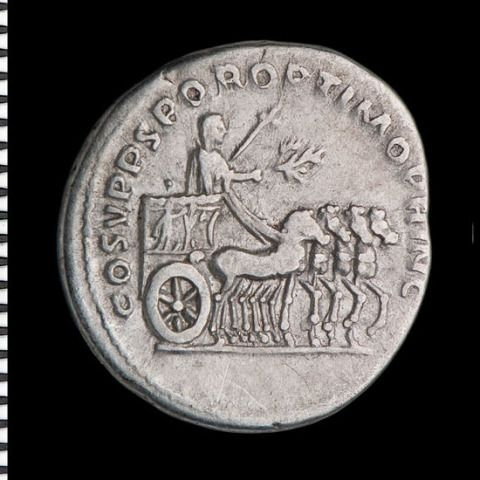 Trajan in a triumphal procession