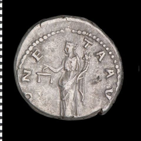 Moneta - personifies the mint and the coinage [Hadrian]