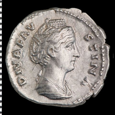 Faustina I, wife of Antoninus (d.141); commemorative issue ('Diva')
