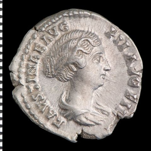 Faustina II, daughter of Antoninus Pius, wife of Marcus