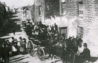 Bardic Crown paraded trhough the streets of Nefyn. 1890