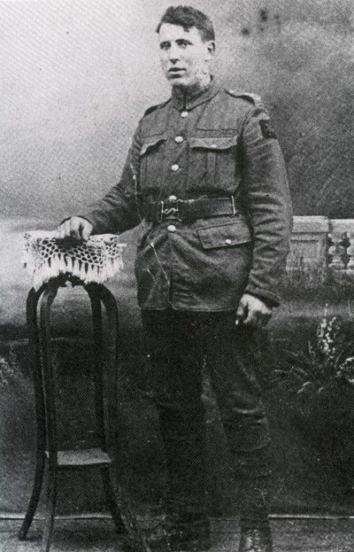 Simon Jones in the First World War