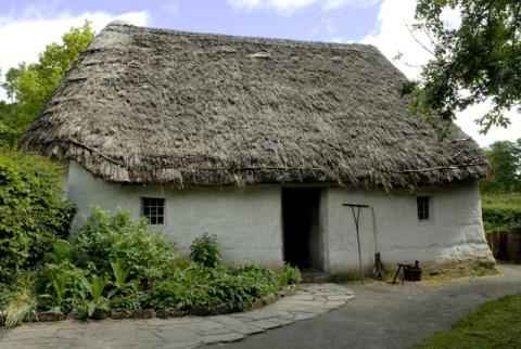 Nant Wallter Cottage at St Fagans National History Museum
