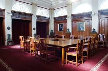 Court Room, National Museum Cardiff